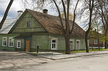 Wooden houses built by the Karaites, Trakai, Lithuania