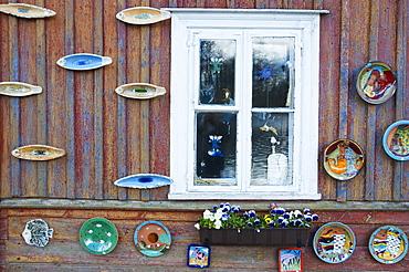 Window, Trakai, Lithuania