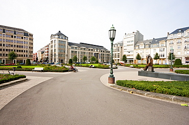 Place de Martyrs (Martyrs' Square) to commemorate the victims of the Nazi Occupation, Luxembourg