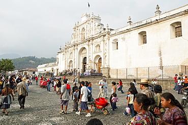 Catedral de Santiago (Cathedral), Antigua Guatemala, Sacatepuquez, Guatemala