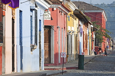 Street scene, Antigua Guatemala, Sacatepuquez, Guatemala