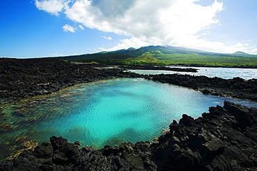 Hawaii, Maui, Makena, Ahihi Kinau Natural Reserve.