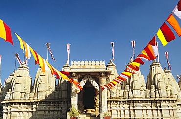 India, Rajasthan, Ranakpur, the Jain Temple of Ranakpur.