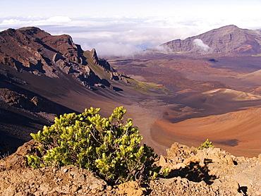 Hawaii, Maui, Haleakala Crater, Haleakala National Park