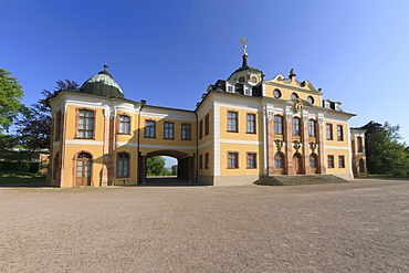 Schloss Belvedere palace, Weimar, Thuringia, Germany