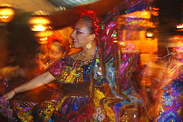 Regional Dance Performance At Las Pichanchas Restaurant, Tuxtla Gutierrez, Chiapas, Mexico