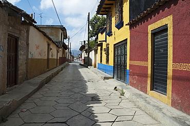Street Scene, San Cristobal De Las Casas, Chiapas, Mexico