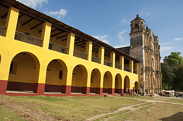 Santo Domingo Church, San Cristobal De Las Casas, Chiapas, Mexico