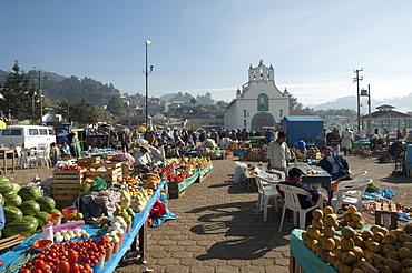 Market Day In San Juan Chamula, Chiapas, Mexico
