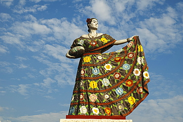 Monument To The Dancer, Chiapa De Corzo, Chiapas, Mexico