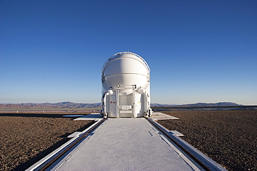Auxiliary Telescope Operated By The European Southern Observatory At Paranal, Antofagasta Region, Chile