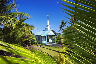 Hawaii, Big Island, Kailua-Kona, Kahaluu, St, Peter's Catholic Church