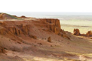 Flaming Cliffs, Bayanzag, South Gobi Province, Mongolia
