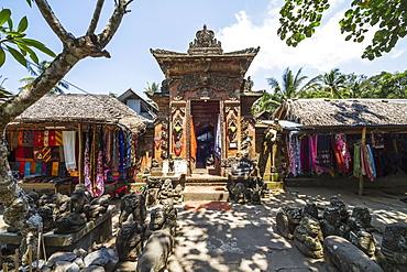 Balinese crafts store, Tenganan Pegringsingan, Bali, Indonesia