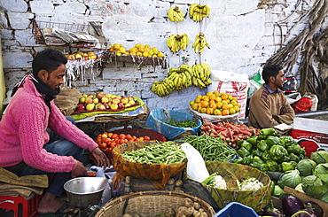 Vegetable street stall