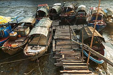 Old fishing harbour, Xiamen, Fujian province, China