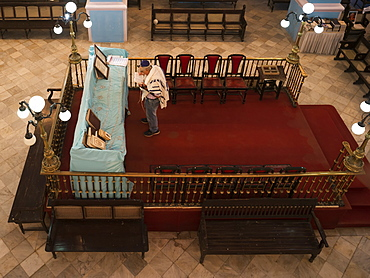 Magen David Synagogue, built in 1864. This sizeable Jewish Synagogue features two schools open to children on all faiths, Mumbai, Maharashtra, India