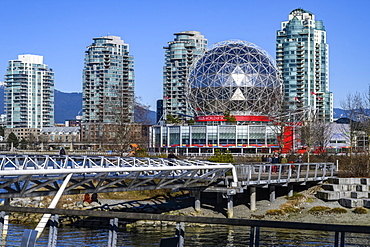 Science World at Telus World of Science, Vancouver, British Columbia, Canada