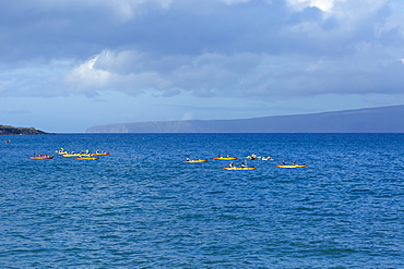Kayaking, Makena Landing, Maui, Hawaii, United States of America