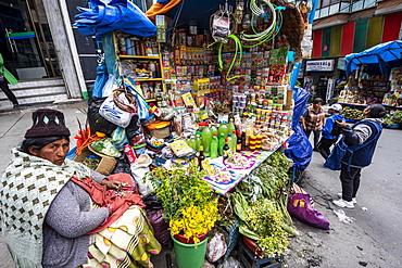 Mercado de Brujas (Witches' Market), La Paz, La Paz, Bolivia