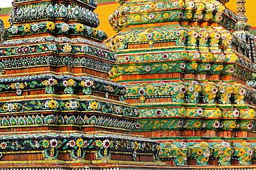 Wat Poh temple, Bangkok, Thailand, Southeast Asia, Asia