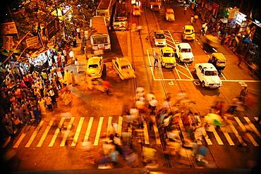 Zebra crossing, Kolkata, West Bengal, India, Asia