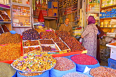Spice Stall, Meknes, Morocco, North Africa, Africa