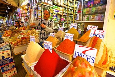 Spice Stall, Medina, Meknes, Morocco, North Africa, Africa