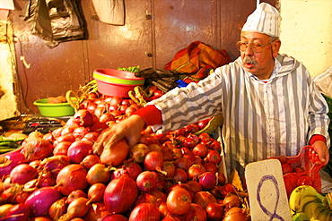 Fruit Stall, Medina, Fez, Morocco, North Africa, Africa
