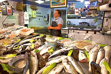 Fish Market, Ortygia, Syracuse, Sicily, Italy, Europe