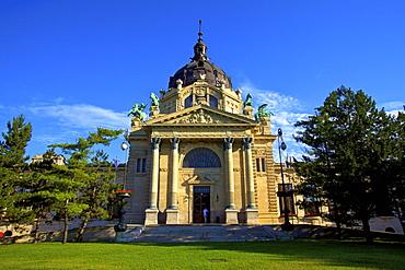 Szechenyi Bath and Spa, Budapest, Hungary, Europe