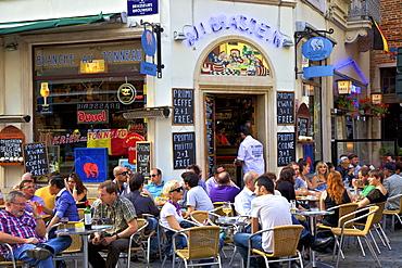 Cafe, Brussels, Belgium, Europe
