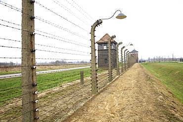 Auschwitz ll Birkenau Concentration Camp, UNESCO World Heritage Site, Brzezinka, Poland, Europe