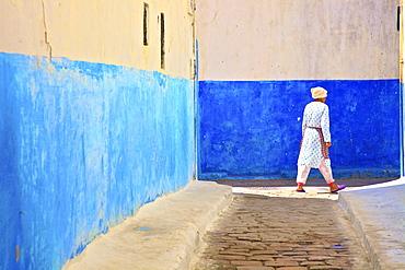 Oudaia Kasbah, Rabat, Morocco, North Africa, Africa