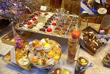 Sweet Shop Display, Brussels, Belgium, Europe