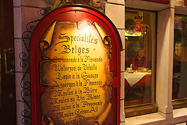 Belgium Restaurant, Brussels, Belgium, Europe