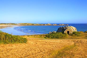 L'Ancresse Bay, Guernsey, Channel Islands, United Kingdom, Europe