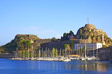 Old Fortress, Corfu Old Town, Corfu, The Ionian Islands, Greek Islands, Greece, Europe