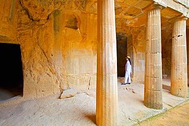 Tombs of the Kings, Paphos, UNESCO World Heritage Site, Cyprus, Eastern Mediterranean Sea, Europe