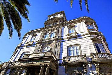 Library Building, Las Palmas de Gran Canaria, Gran Canaria, Canary Islands, Spain, Atlantic, Europe