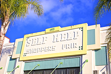 Self Help Shoppers Fair Art Deco Building, Napier, Hawkes Bay, North Island, New Zealand, Pacific