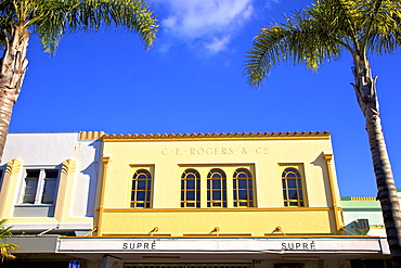 C. E. Rogers and Co Art Deco Building, Napier, Hawkes Bay, North Island, New Zealand, Pacific