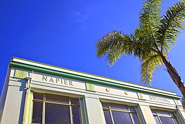 Napier Art Deco Building, Napier, Hawkes Bay, North Island, New Zealand, Pacific