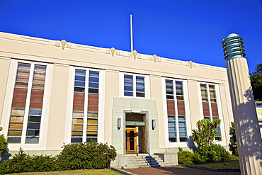 Ministry of Works Art Deco Building, Napier, Hawkes Bay, North Island, New Zealand, Pacific