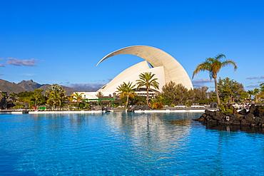 Auditorio de Tenerife, Santa Cruz de Tenerife, Tenerife, Canary Islands, Spain, Atlantic Ocean, Europe