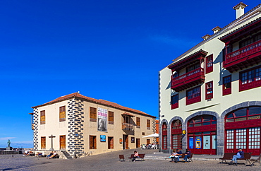 Museum of Contemporary Art Eduardo Westerdahl, Puerto de la Cruz, Tenerife, Canary Islands, Spain, Atlantic Ocean, Europe