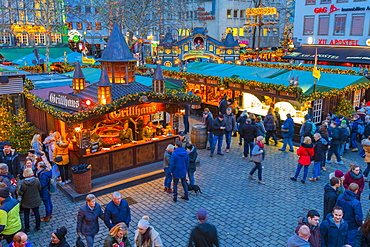Cologne Christmas Market, Cologne, North Rhine-Westphalia, Germany, Europe
