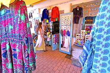 Hippy Shop, Santa Gertrudis de Fruitera, Ibiza, Balearic Islands, Spain, Europe