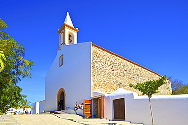 Sant Joan de Labritja Church, Ibiza, Balearic Islands, Spain, Mediterranean, Europe
