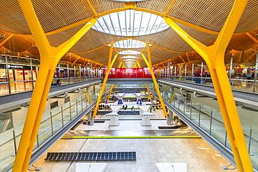 Madrid-Barajas Adolfo Suarez Airport, Madrid, Spain, Europe